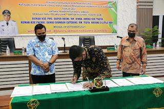 Pemko Medan Jalin Kerjasama Dengan Pelaku UMKM Dalam Pengadaan Makan dan Minum di Lingkungan Pemko Medan