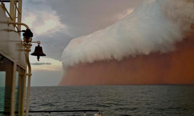 El viento en la isla de Barrow, curiosidades
