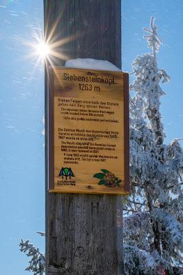 Winterwandern Mauth-Finsterau  Reschbachklause – Siebensteinkopf  Nationalpark Bayerischer Wald 19