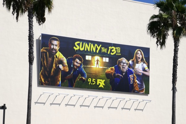 Always Sunny in Philadelphia season 13 billboard