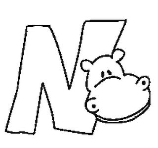 Colorea Tus Dibujos Abecedario De Animales Letra N