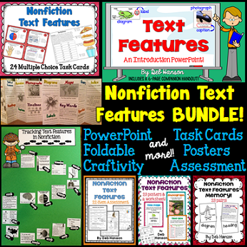Nonfiction Text Features... a bundle of resources!