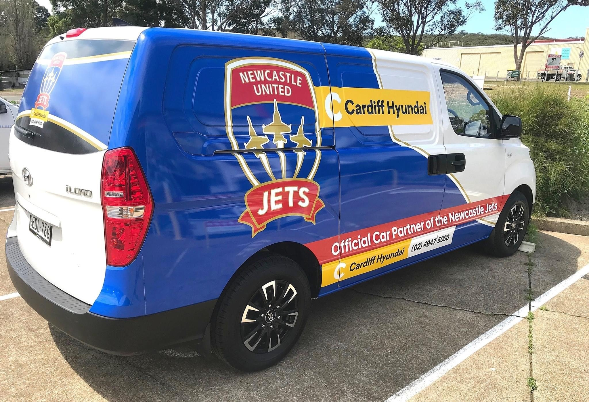 vehicle wrapping in Newcastle