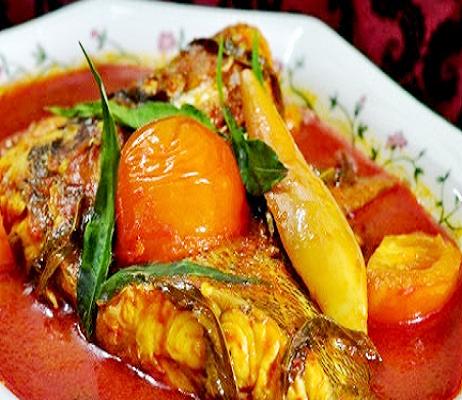 Resepi Asam Pedas Ikan Merah Style Orang Johor