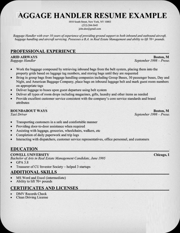 6-Best Resume Samples Investigator ~ Resume CV