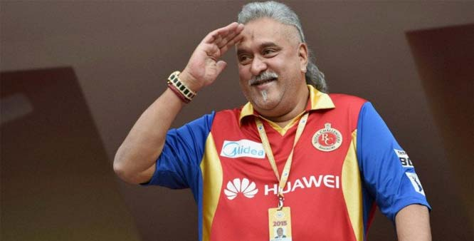 7. Vijay Mallya resigned as Director of Royal Challengers Sports Private Limited