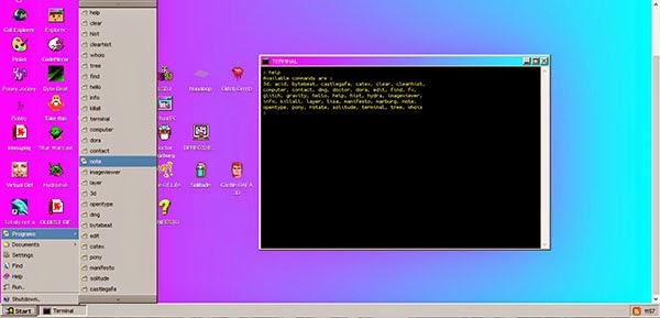 لمن فاته تجربة windows93 يمكنك ذلك الأن بكل سهولة من أي متصفح