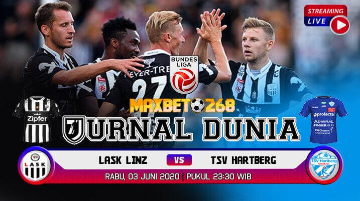 Prediksi LASK Linz Vs TSV Hartberg 03 Juni 2020 Pukul 23.30 WIB