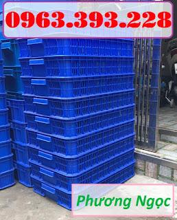 Sọt nhựa rỗng HS010, sọt đựng trái cây, sóng nhựa rỗng đựng nông sản 938ff209306fcb31927e