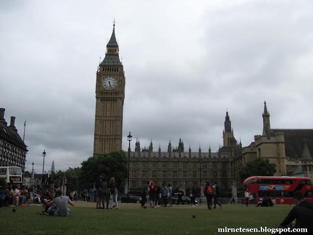 Один день в Лондоне