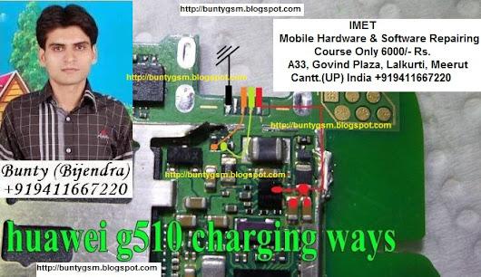 Huawei g510 charging ways