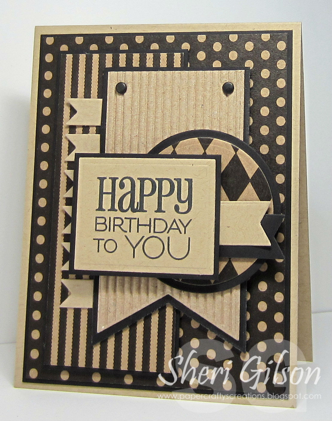 Paper Crafty's Creations : Happy Birthday to You / MOJO300