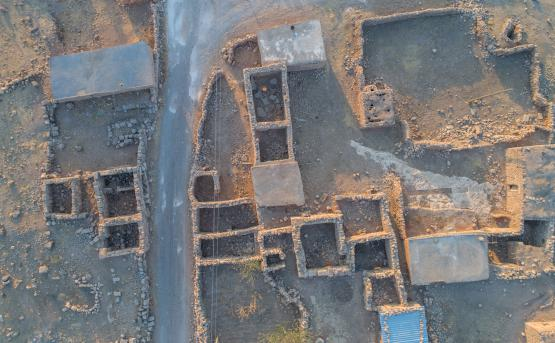 5,000-year-old toy chariot discovered in ancient city of Soğmatar