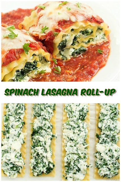 #Spinach #Lasagna #Roll-Up #chickenrecipes #recipes #dinnerrecipes #easydinnerrecipes
