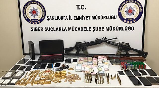 Urfa'da bahis operasyonu: 17 gözaltı