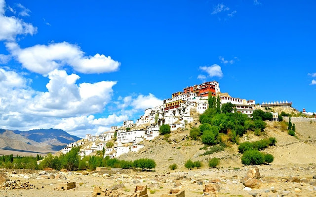 Thiksey Gompa, Best Places to visit in Ladakh