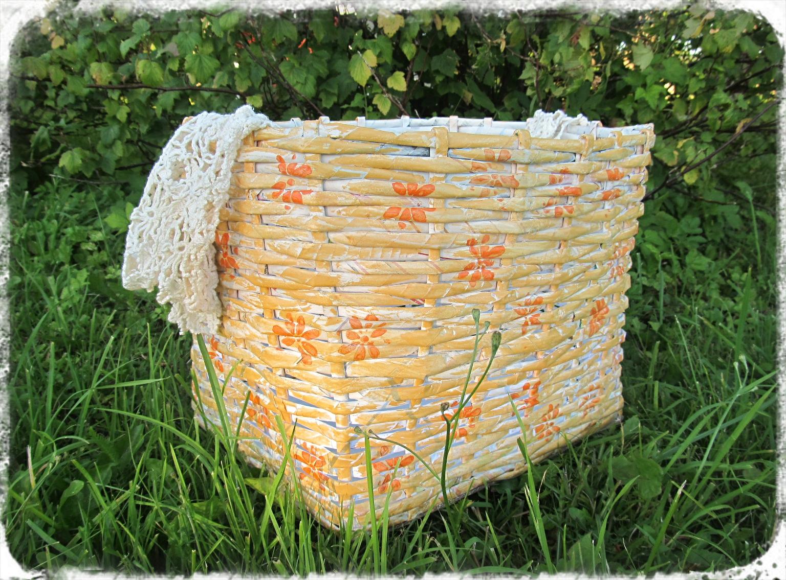 46b3f872160 Tuulevälja Loss: Suur lilleline korv
