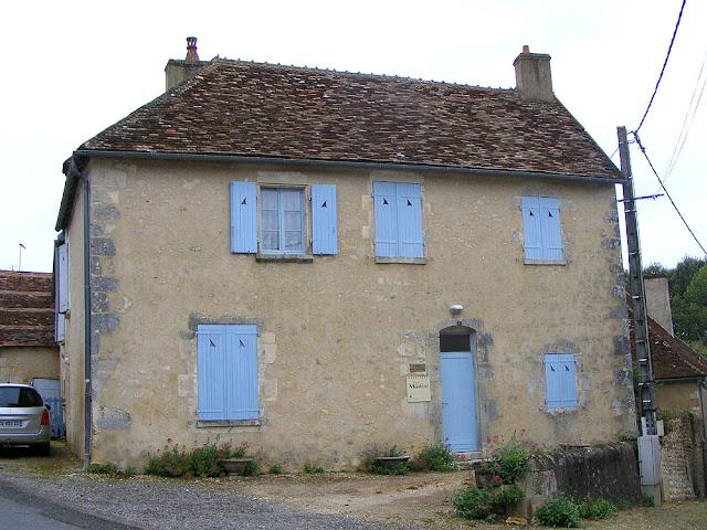Henry de Monfreid's house, Ingrandes, Indre, France. Photo by Loire Valley Time Travel.