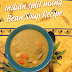 Indian split mung bean soup recipe