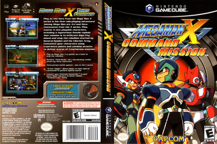X Man Collection Gamecube Mega