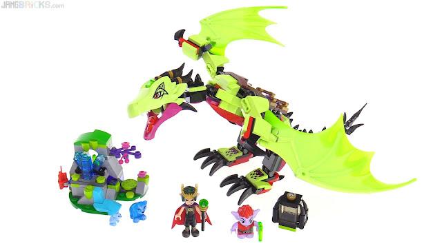 LEGO Elves The Goblin Kings Evil Dragon Review 41183