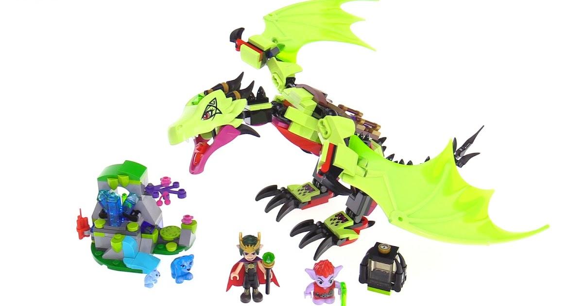 LEGO Elves The Goblin King's Evil Dragon review - 41183