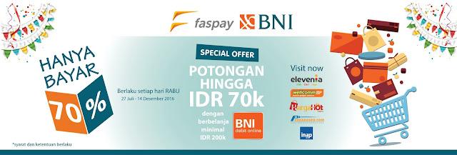 Sistem Pembayaran Online BNI Dalam Aplikasi Faspay