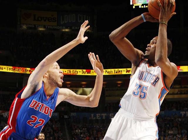 Tayshaun Prince vs Kevin Durant | PistonsFr, actualité des Detroit Pistons en France