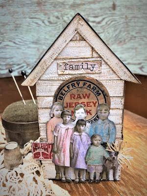 Sara Emily Barker https://sarascloset1.blogspot.com/2019/06/memories-of-home-for-frilly-and-funkie.html Memories of Home Tim Holtz Tiny Houses  2