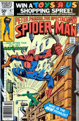 Spectacular Spider-Man #47, the Prowler