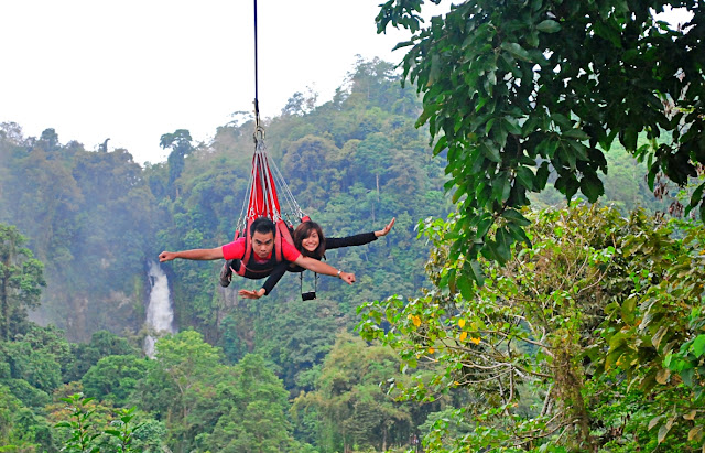 Zipline in the Philippines