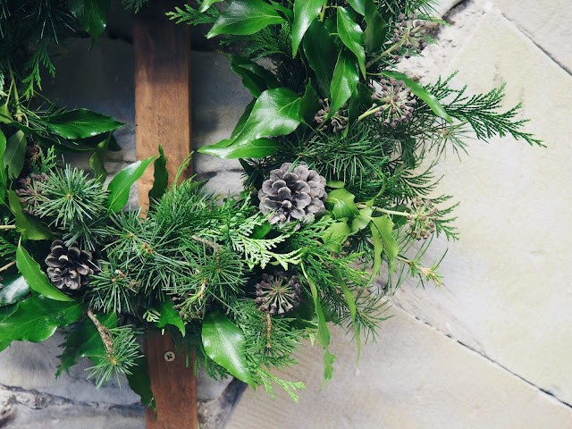 christmas wreath making workshop the flower shop osset yorkshire sculpture park christmas decoration homemade christmas Scandinavian christmas nordic christmas