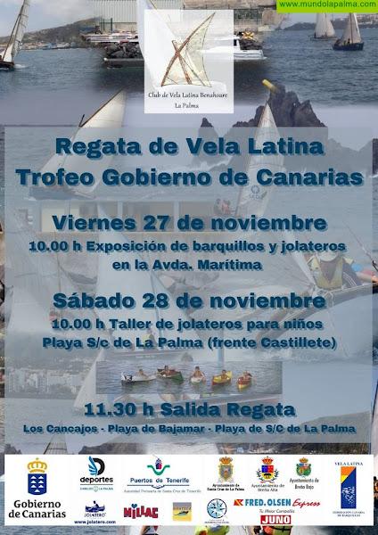 El sábado se celebra el Trofeo Gobierno de Canarias de Barquillos de Vela Latina