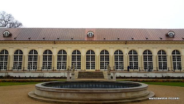 Warszawa Warsaw architektura klasycyzm Łazienki Królewskie galeria rzeźby