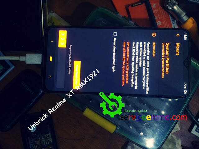 Unbrick Realme Xt RMX1921_Bootloop.Stuck Logo/Twrp Gagal Rooting