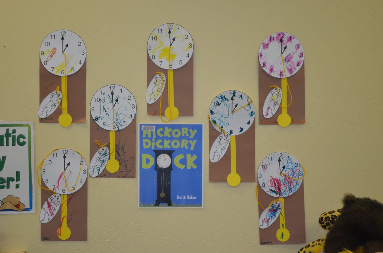 Preschool Ideas For 2 Year Olds Hickory Dickory Dock