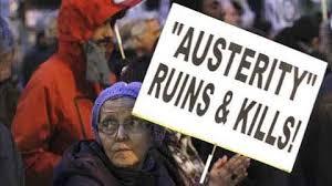 O paro provén da austeridade