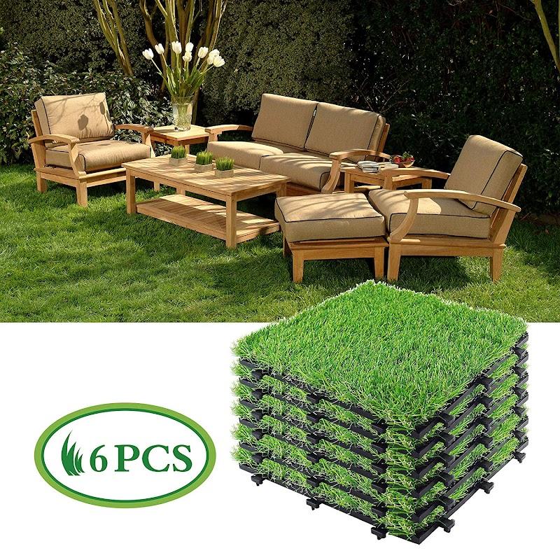 Artificial Grass Tiles   50%off