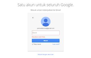 cara membuka email gmail yang lupa Password 100% bisa terbuka langkah 1