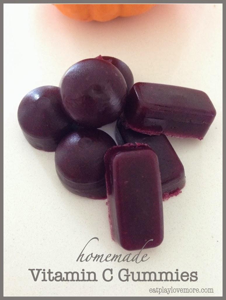 Purple Dancing Dahlias: ~ Homemade Gummie Snacks