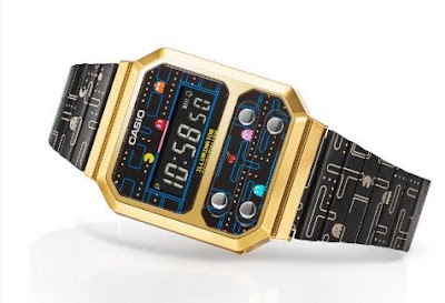 Casio presenta reloj inspirado en Pac-Man