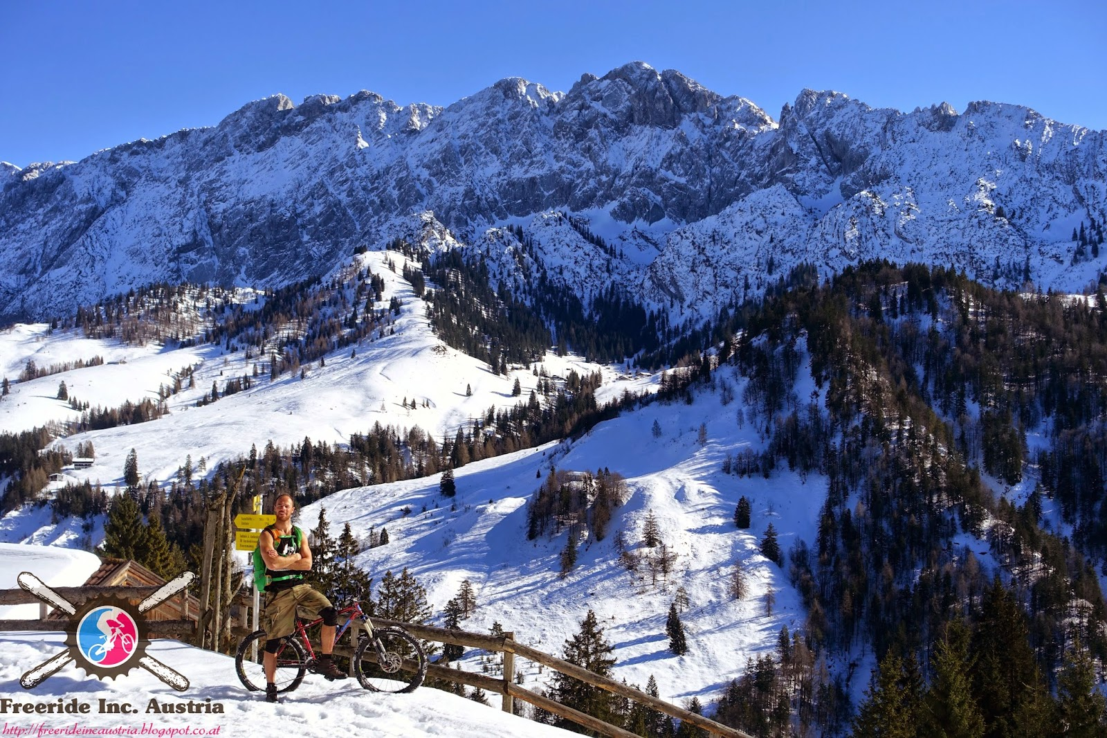 Winter Biketouren Inntal