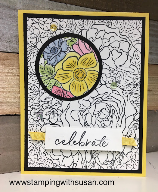Stampin' Up!, Breathtaking Bouquet, www.stampingwithsusan.com, Spotlighting, Stampin' Blends,