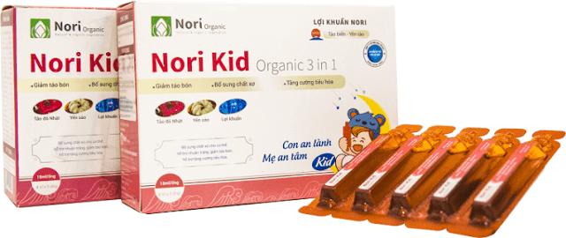 Nori Kid Plus la gi