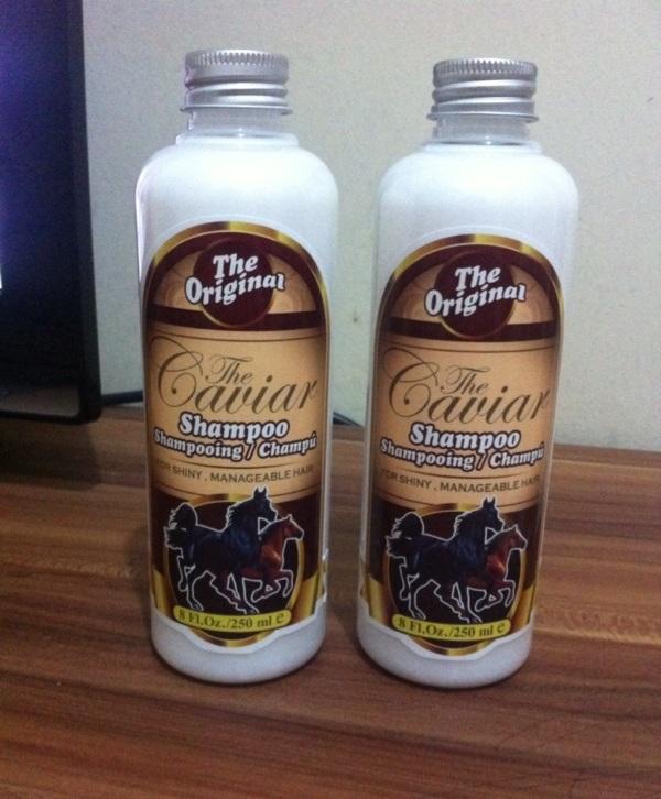 Caviar Shampoo Kuda Asli