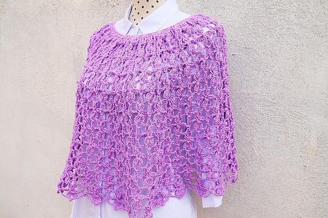 5 - Crochet Imagen Capa para mujer a crochet y ganchillo por Majovel crochet
