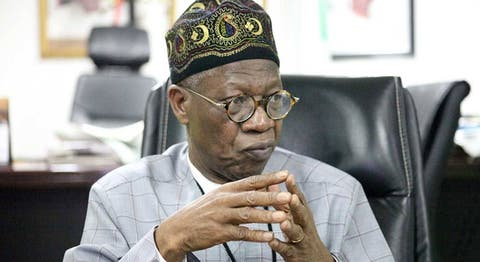 Breaking.....THE RAIL PROJECT FROM LAGOS TO NIGER REPUBLIC IS FOR ECONOMIC REASONS- lai Mohammed