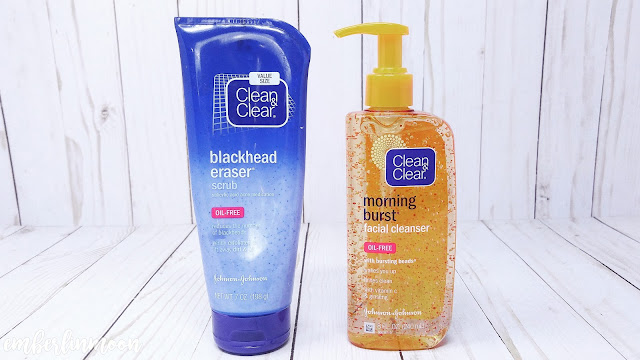 Clean & Clear | Blackhead Eraser Scrub & Morning Burst Cleanser