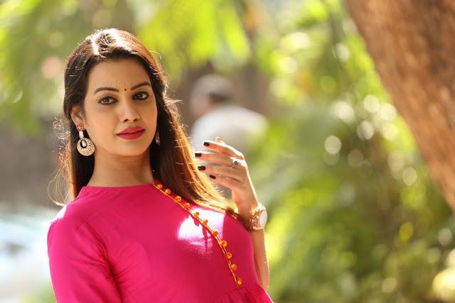 Diksha Panth Stills At Ego Movie Trailer Launch