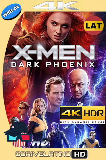 X-Men: Dark Phoenix (2019) WEB-DL 4K HDR Latino-Ingles MKV